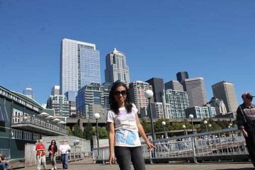 Di downtown Seattle